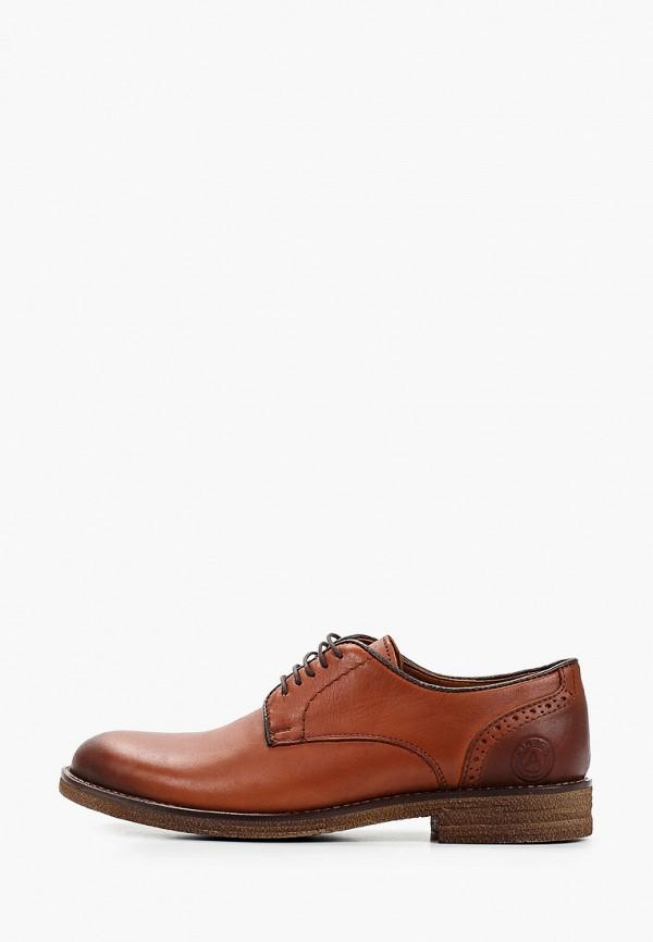 мужские туфли-дерби airbox, коричневые