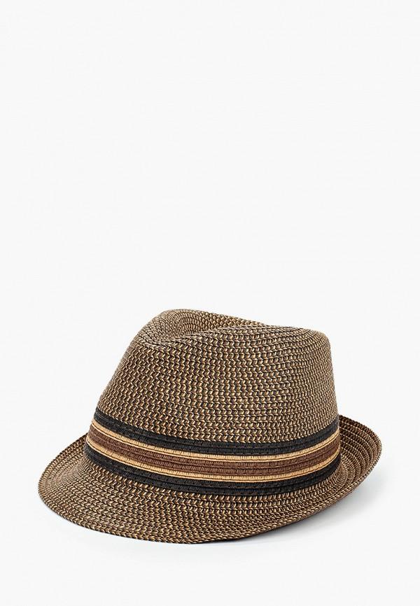 мужская шляпа henderson, коричневая
