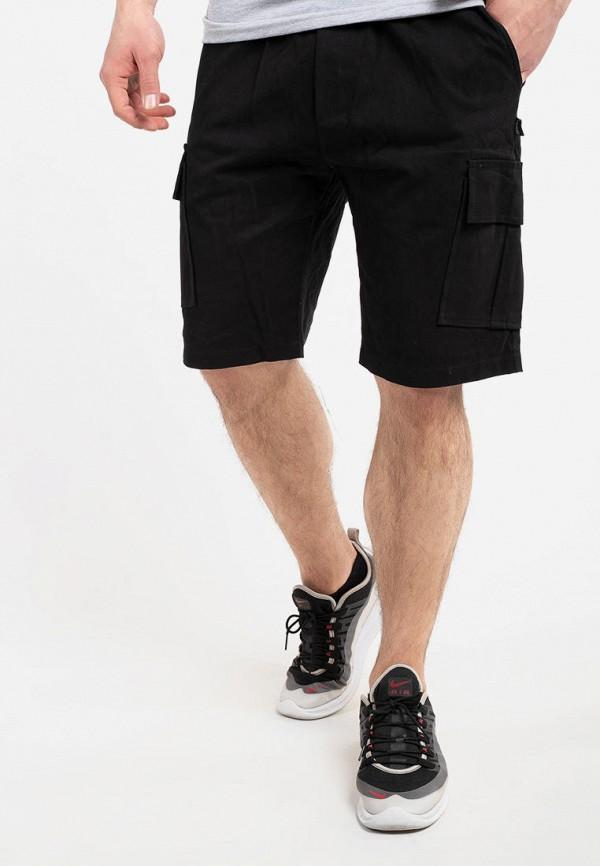 мужские повседневные шорты intruder, черные