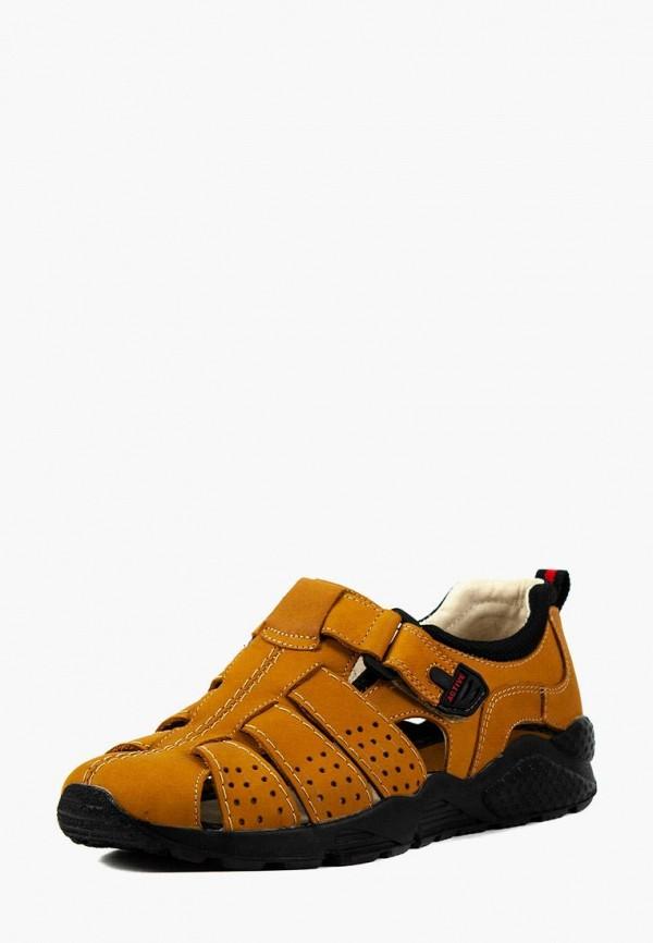 мужские сандалии mida, коричневые