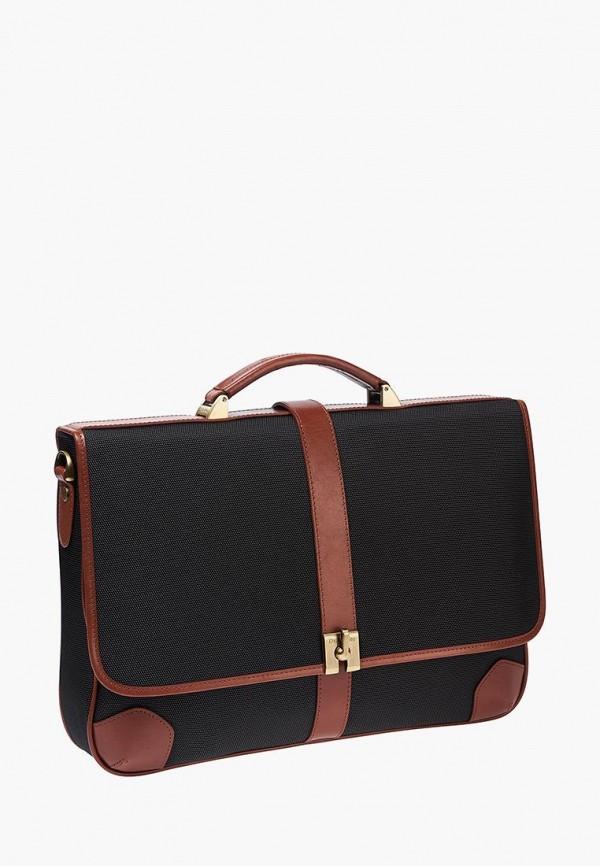 мужской портфель dr.koffer, черный