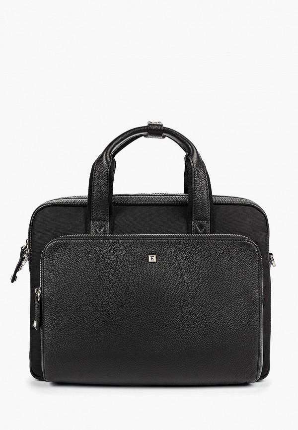 мужской портфель eleganzza, черный