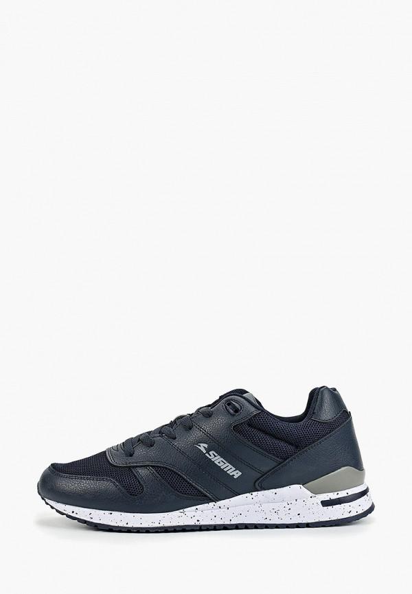 Купить Мужские кроссовки Sigma синего цвета