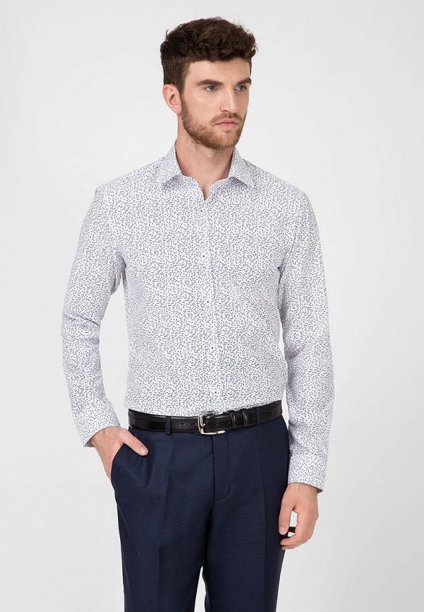 мужская рубашка с длинным рукавом pako lorente, белая