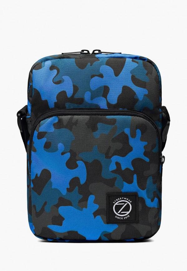 мужская сумка bezet, синяя