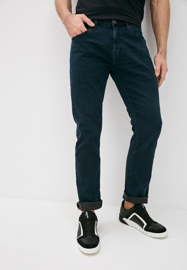 мужские прямые джинсы mavi, синие
