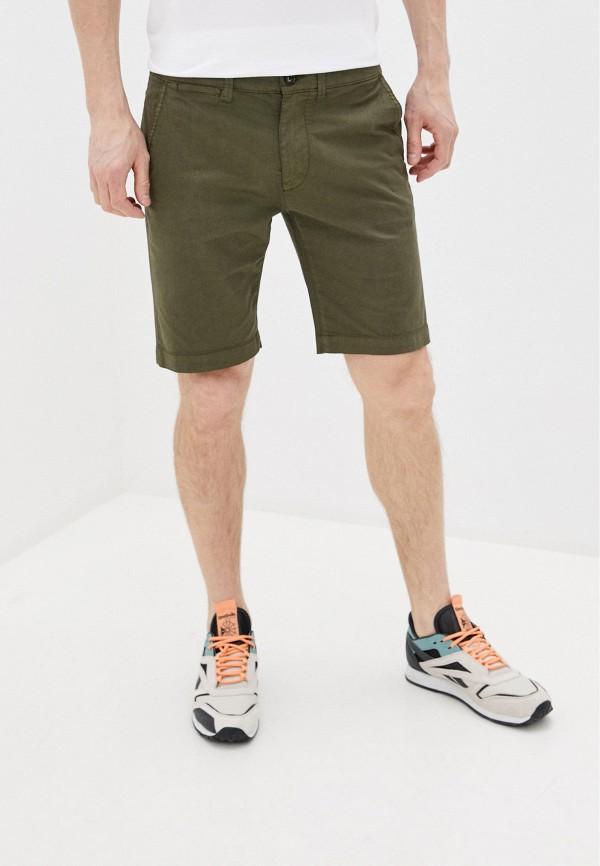 мужские повседневные шорты pepe jeans london, зеленые