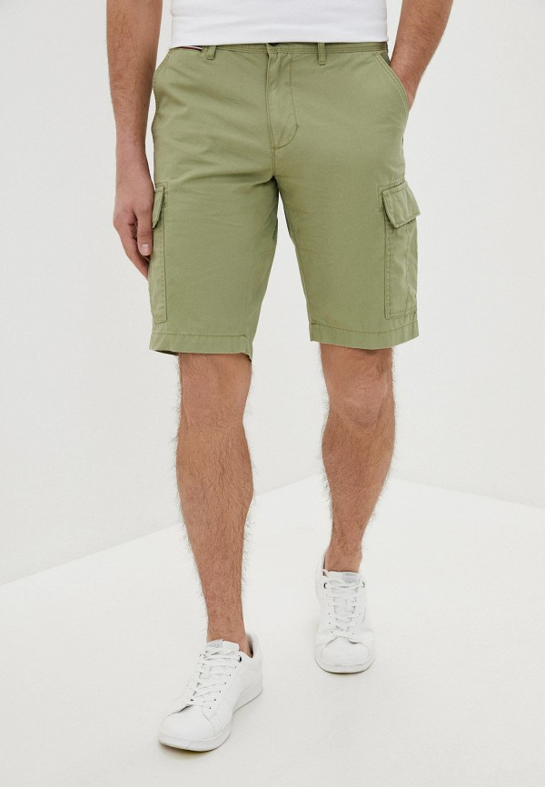 мужские повседневные шорты tommy hilfiger, зеленые