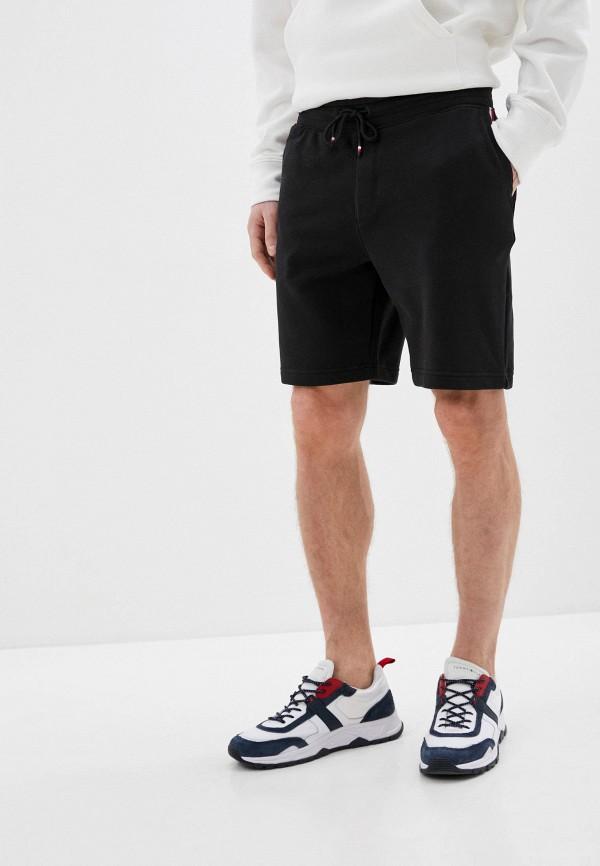 мужские повседневные шорты tommy hilfiger, черные
