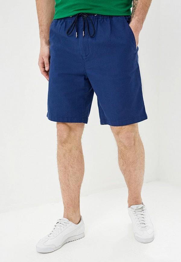мужские повседневные шорты tommy hilfiger, синие