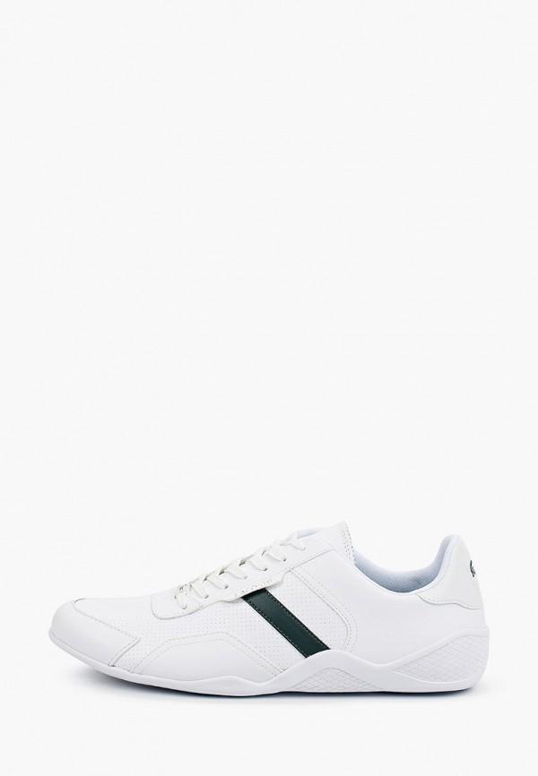 мужские низкие кроссовки lacoste, белые