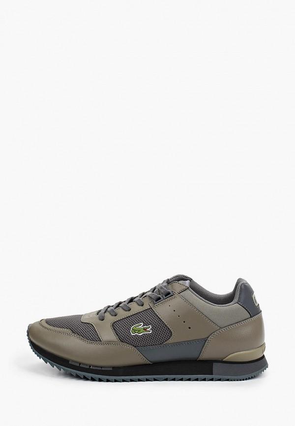 мужские низкие кроссовки lacoste, зеленые