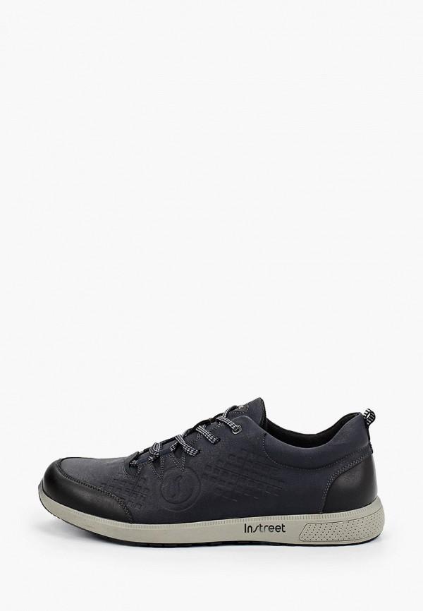 мужские низкие кроссовки instreet, синие