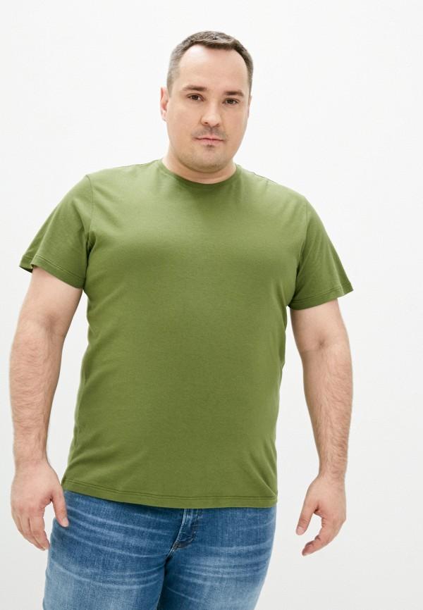 мужская футболка с коротким рукавом fine joyce, хаки