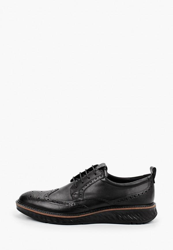 мужские низкие ботинки ecco, черные