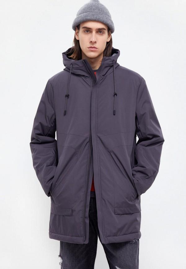мужская утепленные куртка finn flare, серая