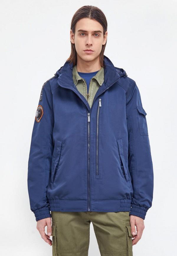мужская легкие куртка finn flare, синяя