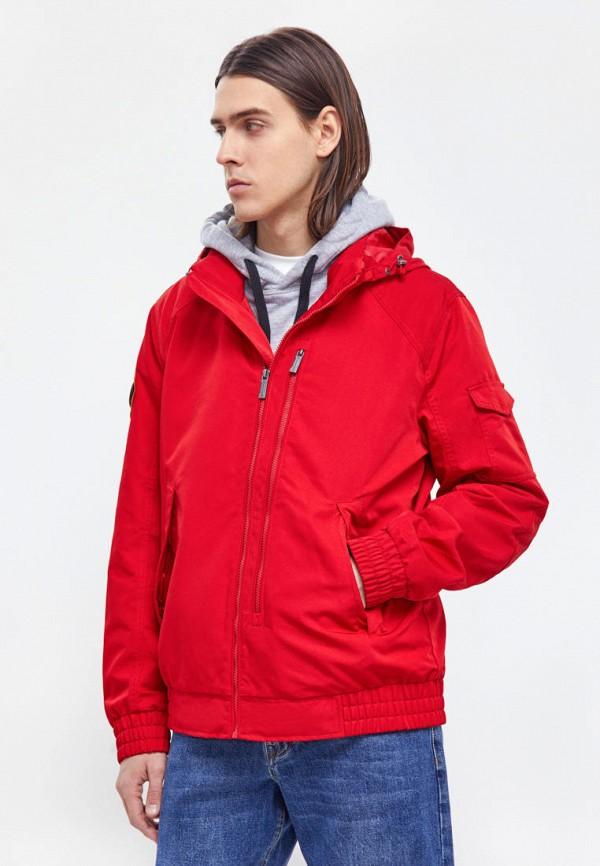 мужская легкие куртка finn flare, красная