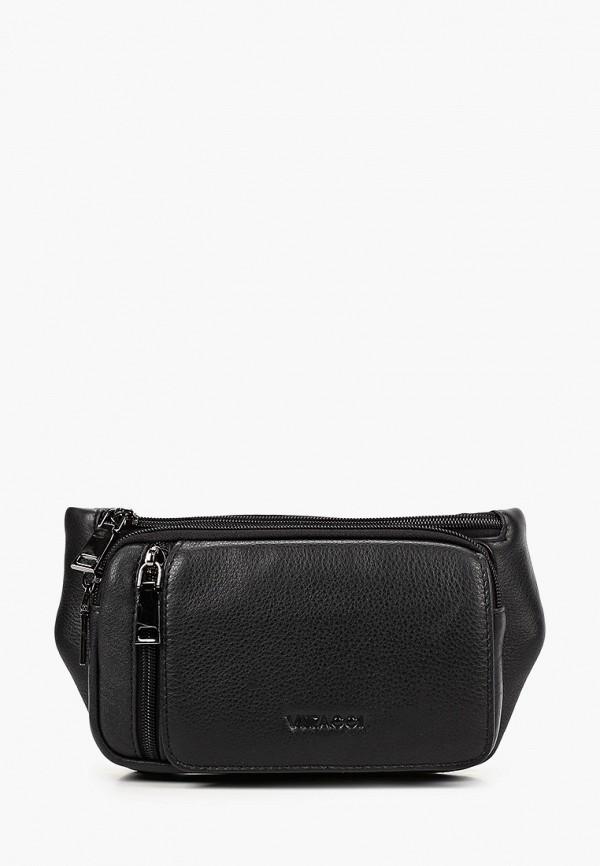 мужская поясные сумка vitacci, черная