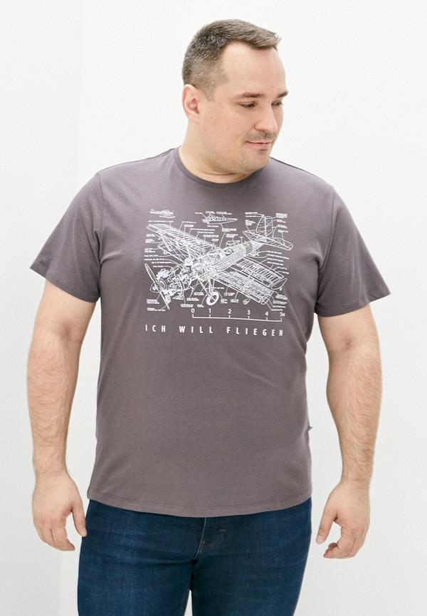 мужская футболка с коротким рукавом jlab, серая