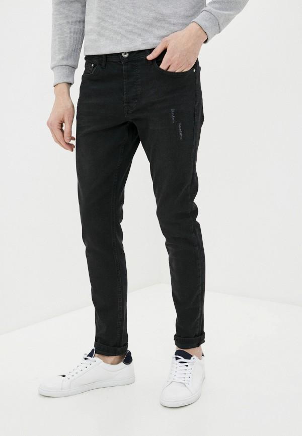 мужские зауженные джинсы defacto, серые