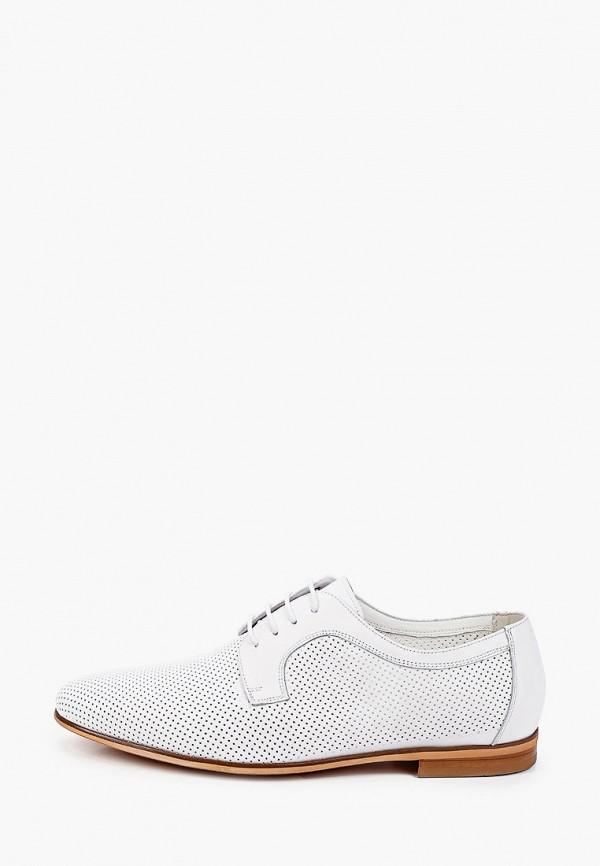 мужские туфли-дерби vitacci, белые