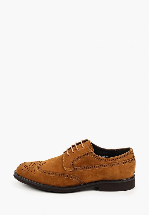 мужские туфли-дерби vitacci, коричневые