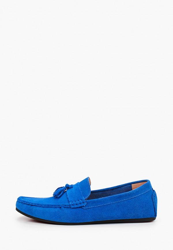 мужские мокасины vitacci, синие