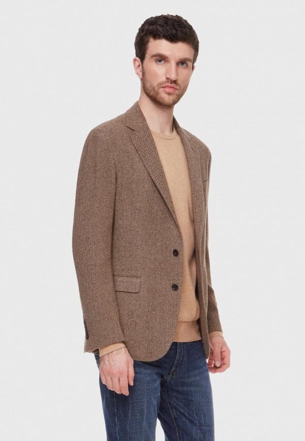 мужской пиджак polo ralph lauren, коричневый