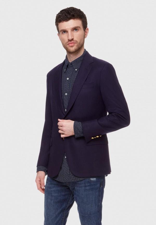 мужской пиджак polo ralph lauren, фиолетовый