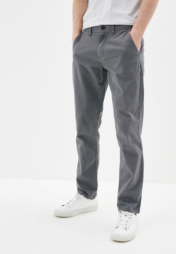 мужские брюки чинос colin's, серые