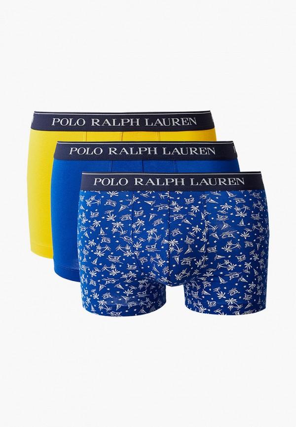 мужские трусы-боксеры polo ralph lauren, разноцветные