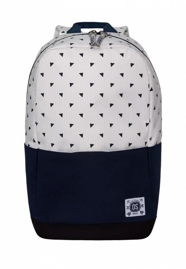 мужской рюкзак grizzly, белый