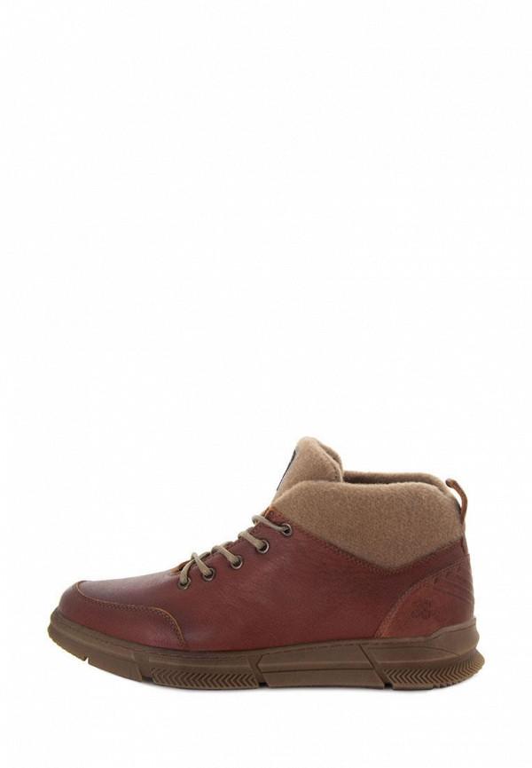 мужские ботинки konors, коричневые