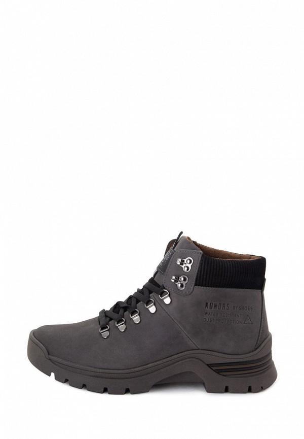 мужские ботинки konors, серые