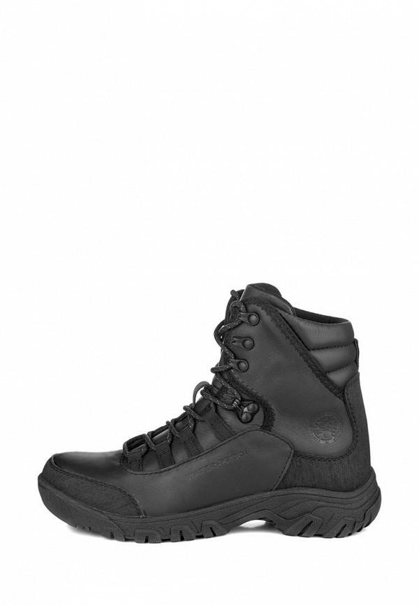 мужские ботинки my day, черные