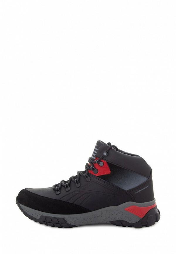 мужские ботинки konors, черные