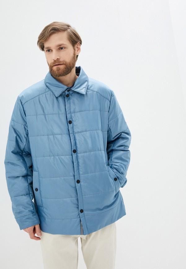 мужская утепленные куртка wiko, голубая