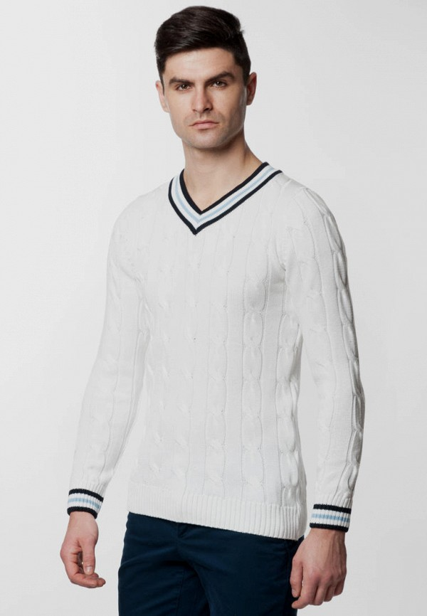 мужской пуловер arber, белый