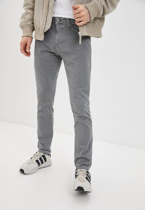 мужские зауженные джинсы mavi, серые