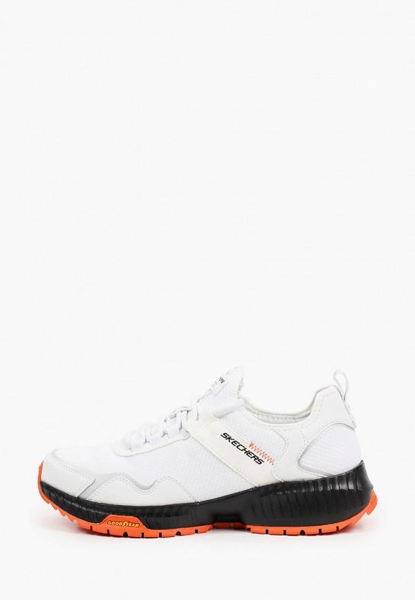 мужские низкие кроссовки skechers, белые