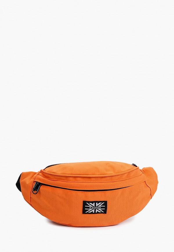 мужская поясные сумка keddo, оранжевая