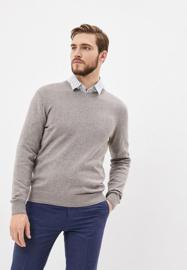мужской пуловер baon, бежевый