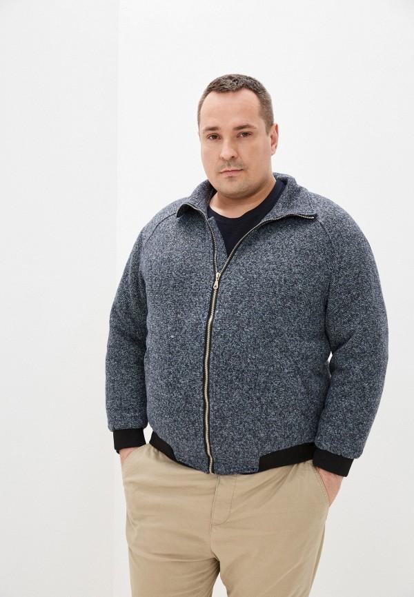 мужская утепленные куртка misteks design, синяя