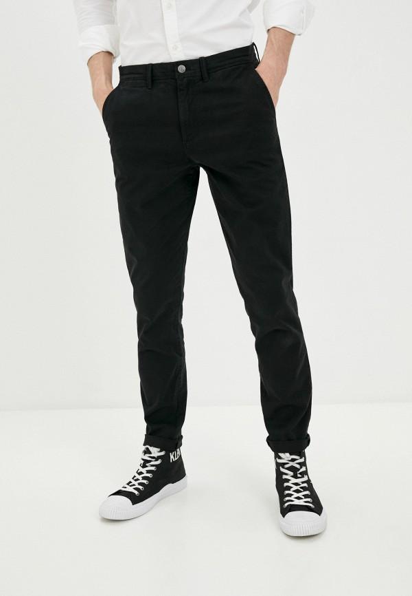 мужские брюки чинос calvin klein, черные