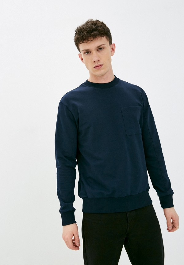мужской свитшот baon, синий