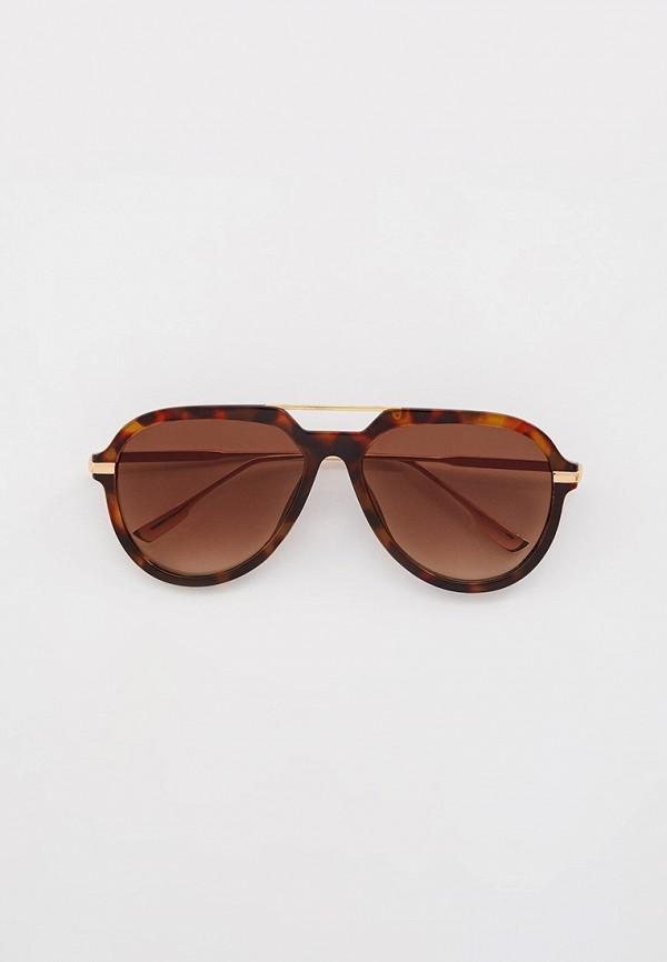 мужские авиаторы солнцезащитные очки keddo, коричневые