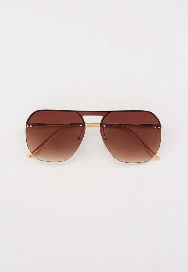 мужские авиаторы солнцезащитные очки keddo, золотые