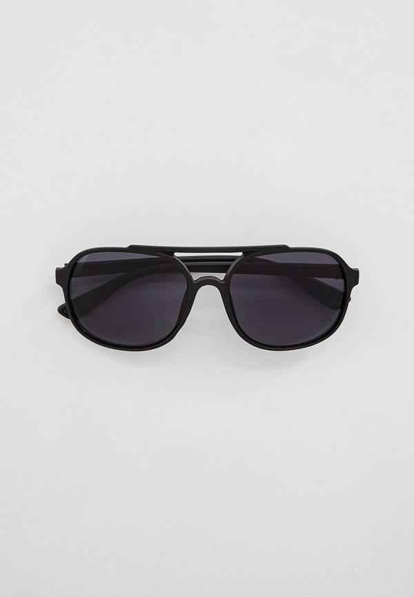 мужские круглые солнцезащитные очки keddo, черные