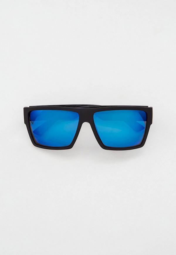 мужские квадратные солнцезащитные очки keddo, черные
